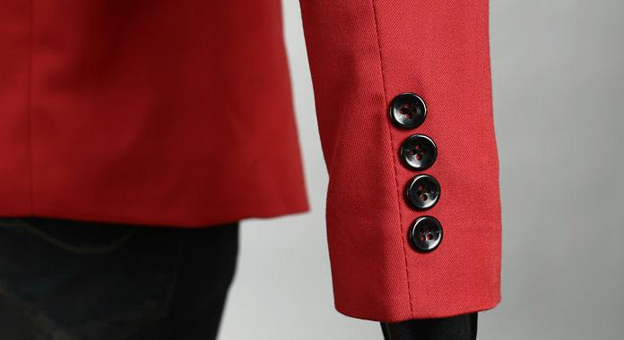 Красный мужской пиджак – купить в интернет-магазине Men s Club d0b797b5df2