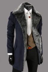 Мужское пальто из кашемира Le Gen