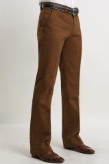 Коричневые брюки для мужчин Bordi
