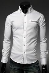 Мужская рубашка с длинным рукавом светлая Essence