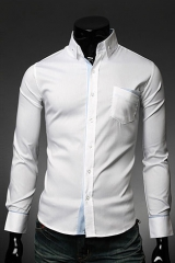 Светлая рубашка со втачным карманом Essence