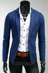 Темно-синий пиджак A.C. Home