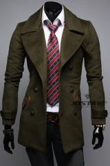 Мужское пальто с отложенным воротником A.C. Justin