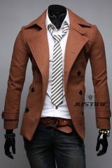 Пальто мужское приталенное A.C. Justin