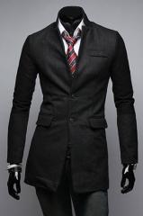Молодежное классическое пальто
