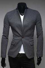 Мужской трикотажный пиджак