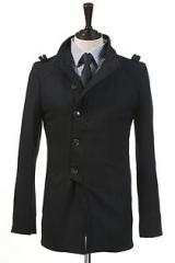 Пальто приталенного кроя Le Gen