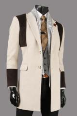 Стильное мужское пальто Le Gen