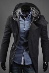 Мужское пальто с капюшоном A.C. Justin