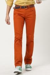 Мужские брюки оранжевые Bordi