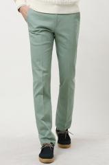 Светло-зеленые брюки со стрелками Bordi