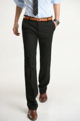 Черные брюки для мужчин классика Bordi