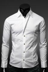 Классическая белая рубашка для мужчин Essence