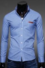 Приталенная рубашка в клетку Essence