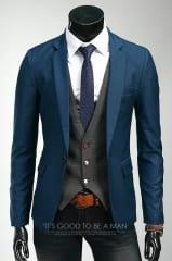 Мужской кэжуал пиджак